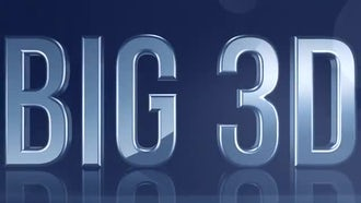 Big 3D Text: After Effects Templates