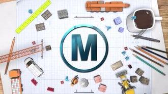 Logo Contruct: Premiere Pro Templates