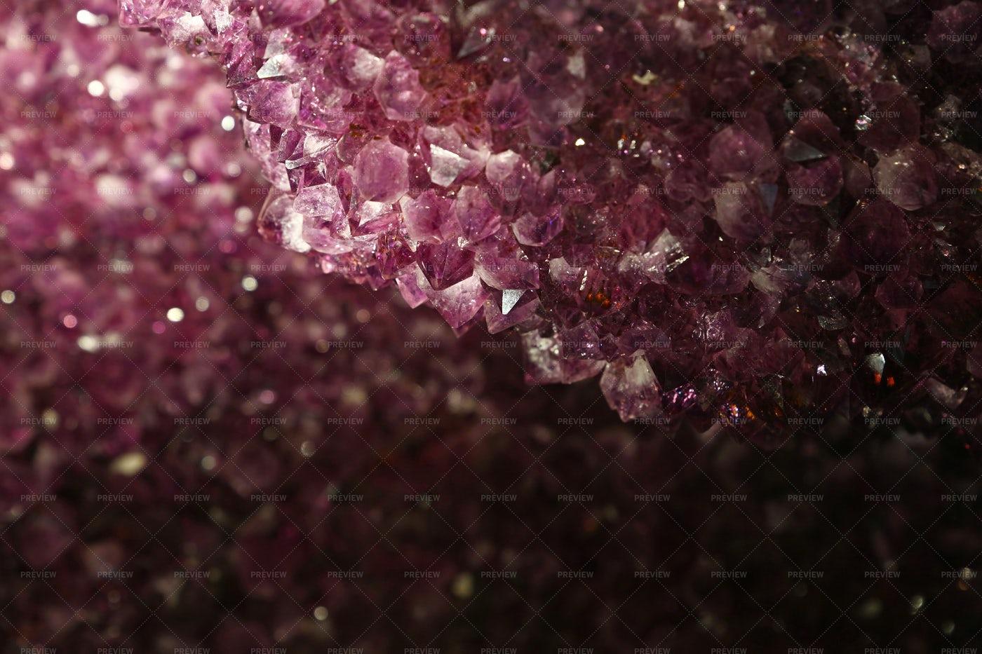 Purple Amethyst: Stock Photos