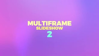 Multiframe Slideshow 2: Premiere Pro Templates