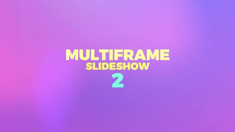 Multiframe Slideshow 2: Premiere Pro Templates