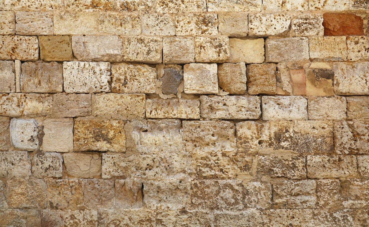 Beige Bricks: Stock Photos