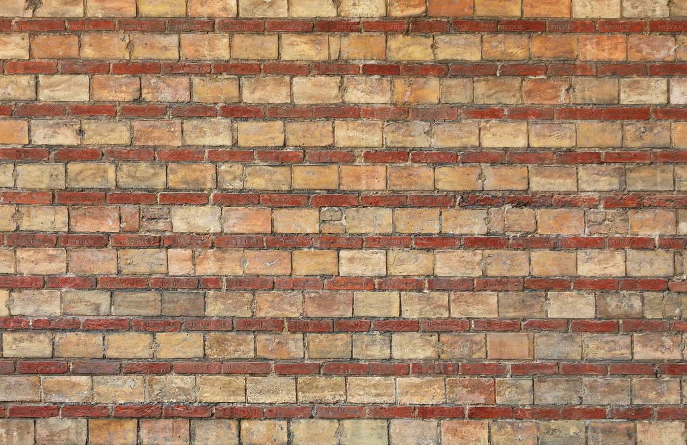 Red Brown Brick Wall: Stock Photos