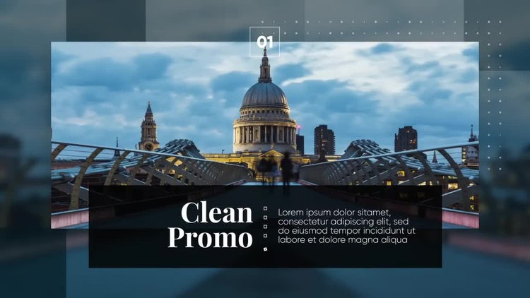 Clean Corporate - Modern Presentation: After Effects Templates