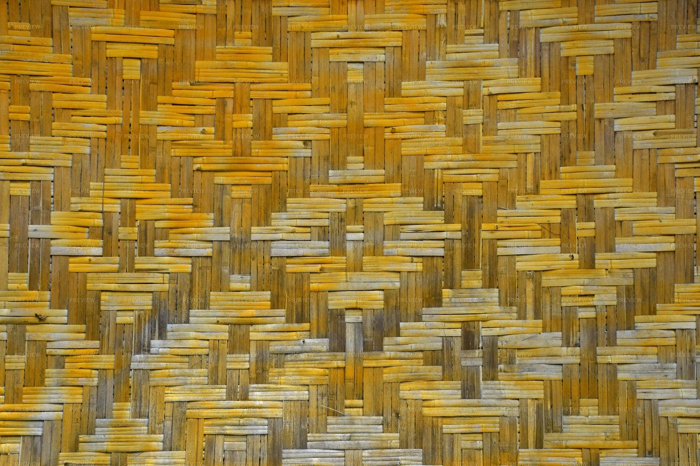 Wicker Braided Bamboo: Stock Photos