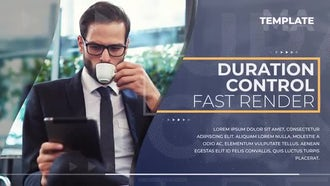 Clean Corporate Promo: After Effects Templates