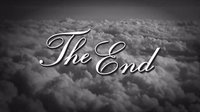 The End Retro Film: Stock Motion Graphics