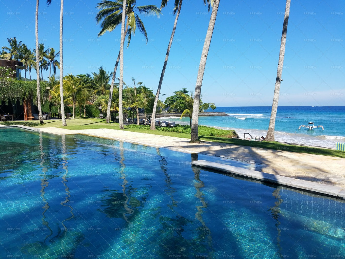 Indonesian Resort: Stock Photos