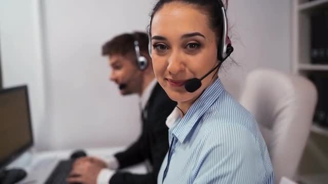 Phone Customer Support : Stock Video