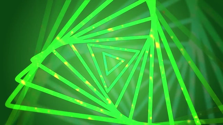 Triangle VJ Background Loop: Motion Graphics