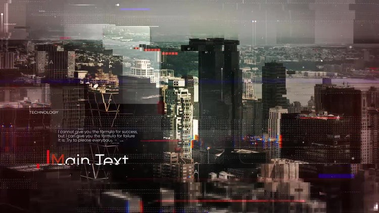 Digital Slides: After Effects Templates