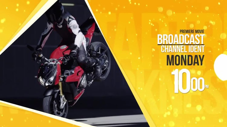 Broadcast Channel ID: After Effects Templates