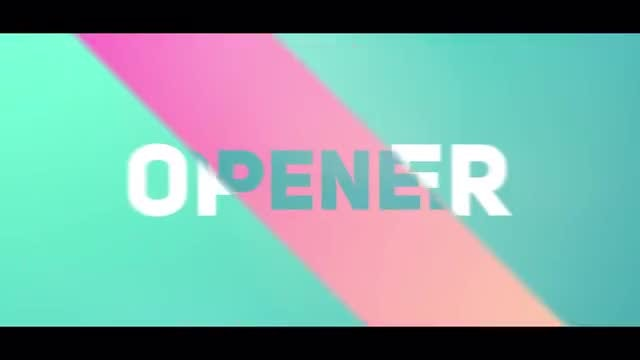 Modern Dynamic Opener Logo: After Effects Templates