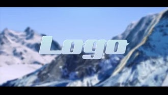 Logo In Mountain: Premiere Pro Templates