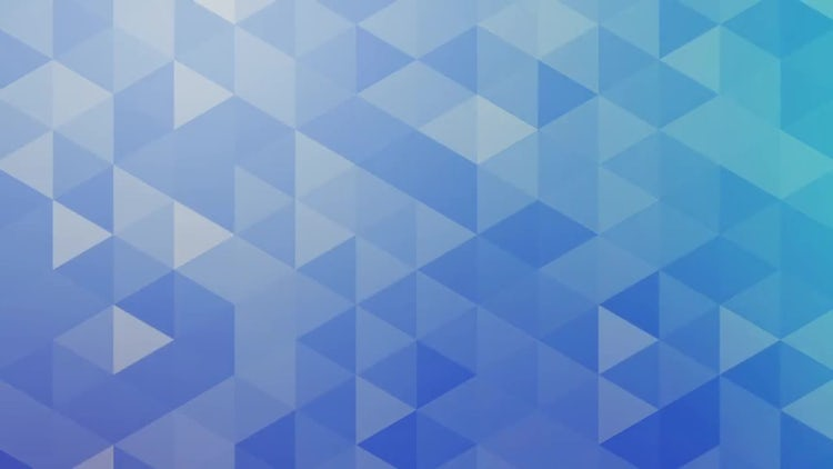 Neutral Blue Triangles: Motion Graphics