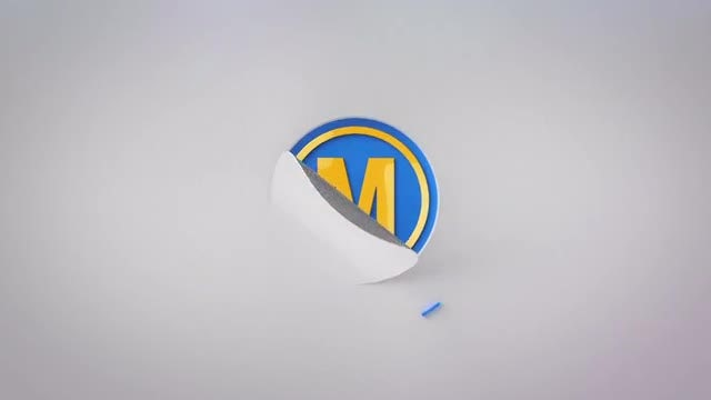 Peeling Logo: After Effects Templates