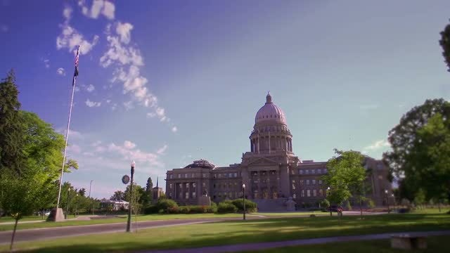 State Capitol Building - Idaho: Stock Video