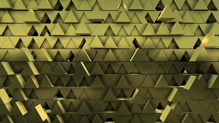 Triangle Pattern: Stock Motion Graphics