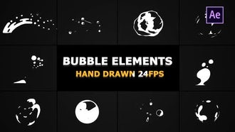 Flash FX Bubble Elements: After Effects Templates
