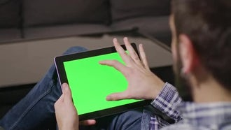Tablet Pinch In And Out : Stock Video