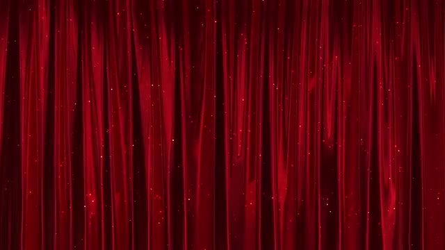 Red Curtain: Stock Motion Graphics