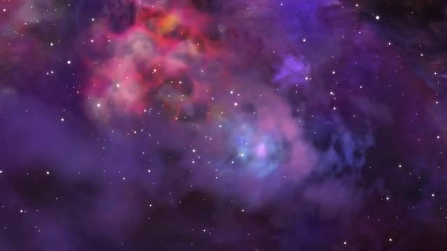 Flying Through Outer Space: Stock Motion Graphics