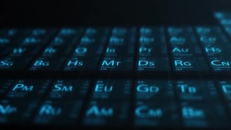 Hi-Tech Periodic Table Pack: After Effects Templates