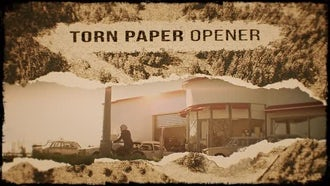 Torn Paper Opener: Premiere Pro Templates