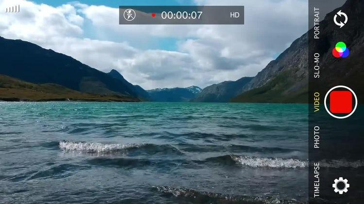 Phone Recording Screen: Motion Graphics