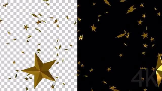 Star Rain: Stock Motion Graphics