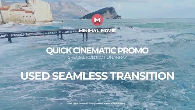 Quick Cinematic Promo: Premiere Pro Templates