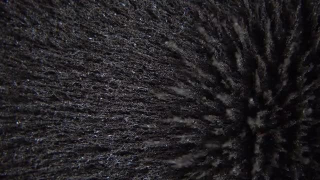 Metal Shavings Peaks: Stock Video