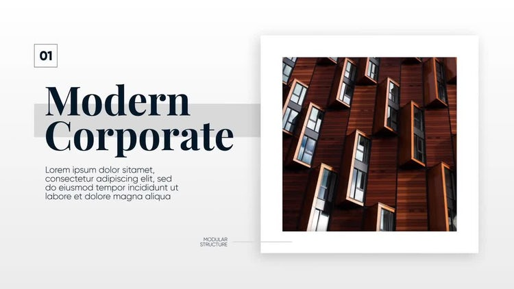 Modern Corporate - Clean Promo: After Effects Templates