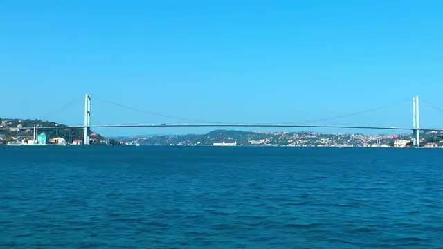 Bosphorus Bridge Istanbul Turkey Pack: Stock Video