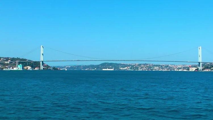 Bosphorus Bridge Istanbul Turkey Pack: Stock Video
