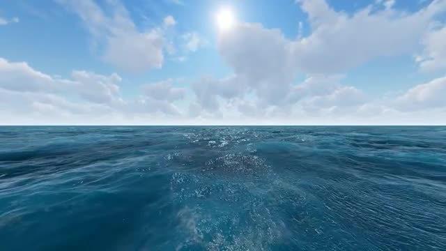 Endless Ocean: Stock Motion Graphics