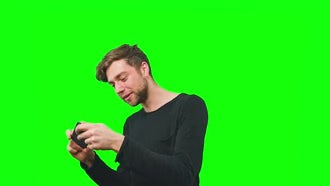 Young Man Playing Game: Stock Video