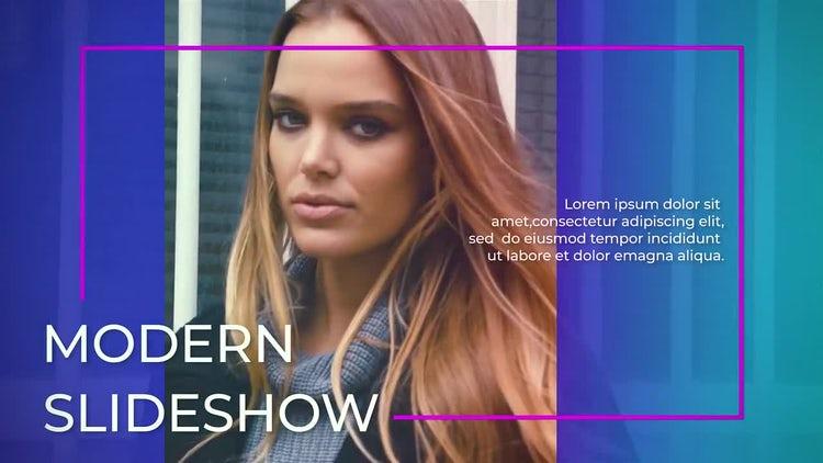 Modern Slideshow : Premiere Pro Templates