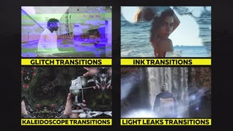 80+ Pack: Transitions, Overlays, Sound Fx: Premiere Pro Templates
