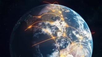 Global Network - Orange: Motion Graphics