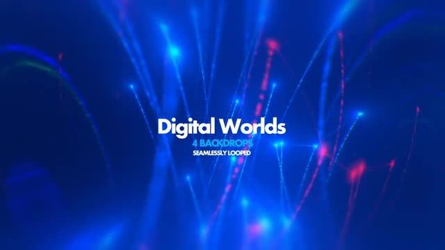 Digital Worlds Pack 01: Stock Motion Graphics