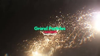 Grand Particles Pack 01: Motion Graphics