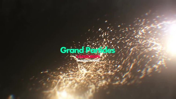 Grand Particles Pack 01: Stock Motion Graphics