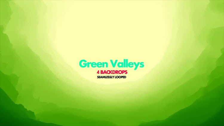 Green Valley Pack 01: Stock Motion Graphics
