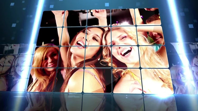 Techno Panels: After Effects Templates