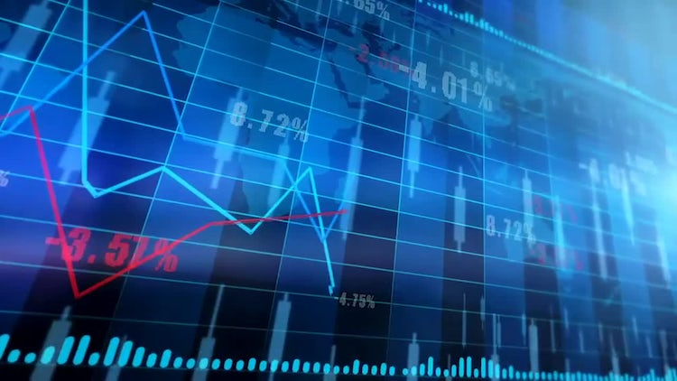 Stocks And Shares - Trading: Motion Graphics
