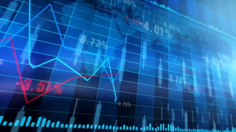 Stocks And Shares - Trading: Stock Motion Graphics