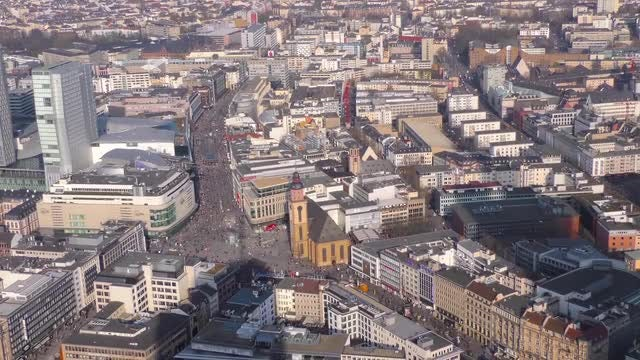 Frankfurt Germany: Stock Video