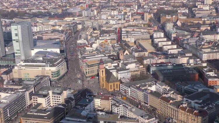 Frankfurt Germany: Stock Video