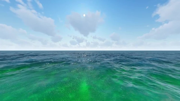 The Sea On A Sunny Day: Motion Graphics